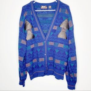 Impact Vintage Button front Sweater